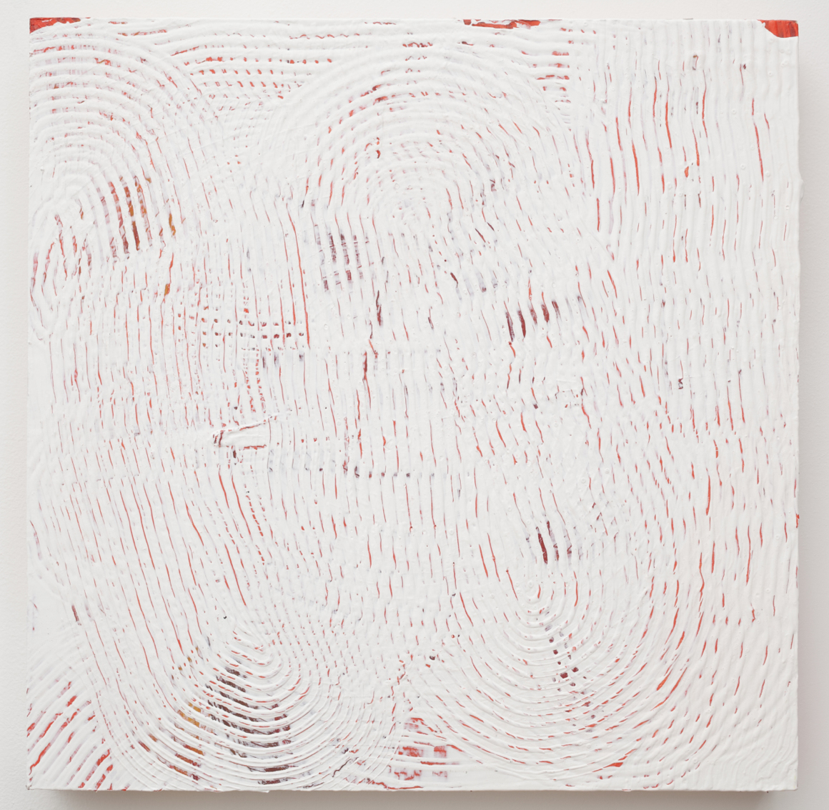 "<p><span class=""name"">Adam Bateman</span><br><em>White and Red</em><span class='media'>acrylic and spray paint on panel</span>15.5 x 15.5in<br>2014<br><a class='inquire' href='mailto:info@gildargallery.com?subject=Artwork Inquiry ABAT0012&body=I am interested in finding out more about White and Red by Adam Bateman'>Inquire</a></p>"