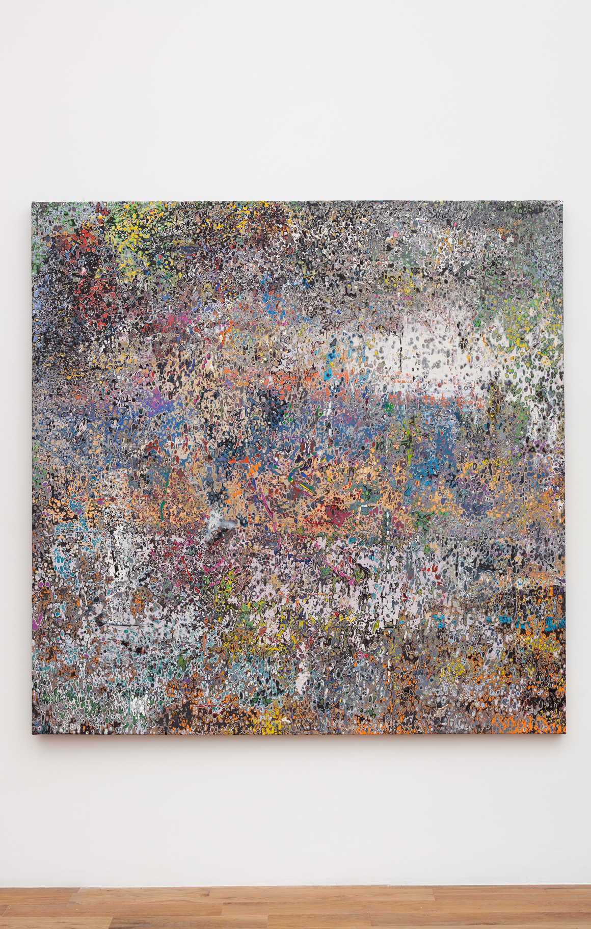 <p><em>Artforum April 2005</em><span class='media'>Acrylic on canvas</span>64.5 x 64.5 in (163.8 x 163.8 cm)<br>2016<br></p>