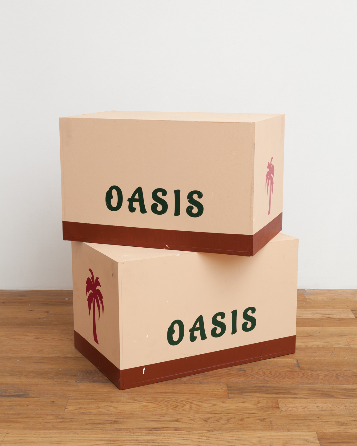 <p><em>Oasis Boxes (Sculptural Teaser Trailer for a Future Show, Presently Past)</em>Edition of AP 1 of 6 | Edition of 7 + 6AP<br>2015<br><a class='inquire' href='mailto:info@gildargallery.com?subject=Artwork Inquiry ASTA0007&body=I am interested in finding out more about Oasis Boxes (Sculptural Teaser Trailer for a Future Show, Presently Past) by Adam Stamp'>Inquire</a></p>