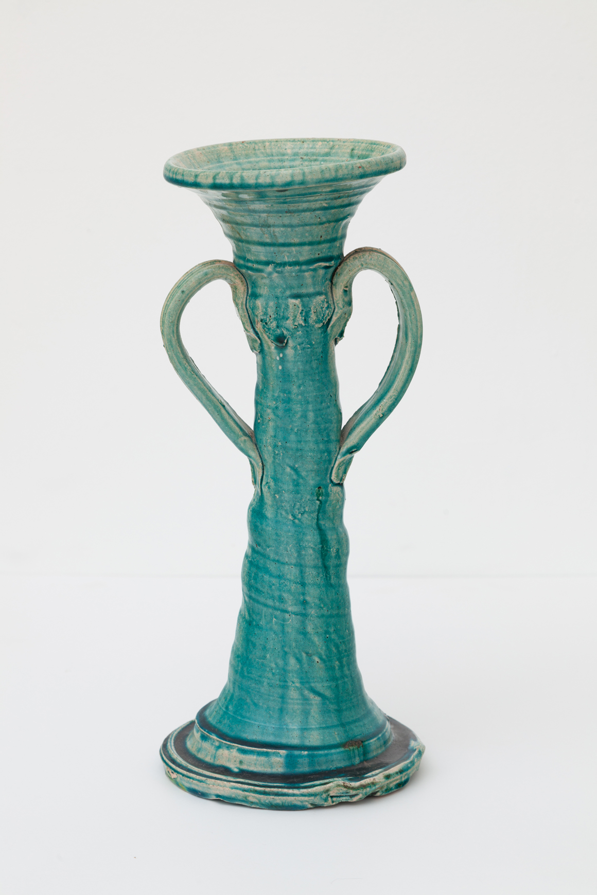 "<p><span class=""name"">Betty Woodman</span><br><em>Untitled (Candelabra)</em><span class='media'>Glazed ceramic</span>13.5 x 5.5 x 5.5 in  (34.3 x 14 x 14 cm)<br>1970<br><a class='inquire' href='mailto:info@gildargallery.com?subject=Artwork Inquiry BWOO0003&body=I am interested in finding out more about Untitled (Candelabra) by Betty Woodman'>Inquire</a></p>"