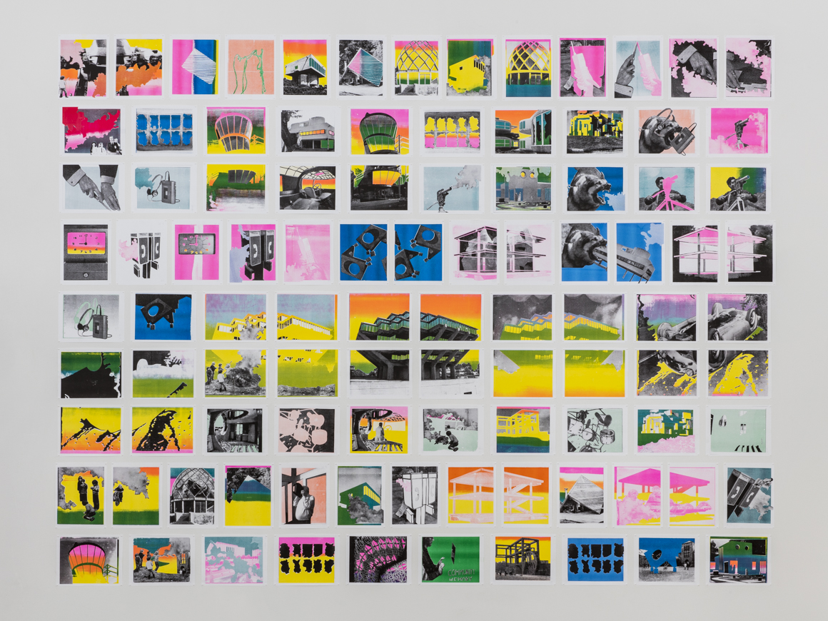 <p><em>PROCESSED WORLD</em><span class='media'>Risograph print collages on paper</span>8.5 x 11 in each<br>Edition of Edition of 30<br>2014<br><a class='inquire' href='mailto:info@gildargallery.com?subject=Artwork Inquiry CMIC0001&body=I am interested in finding out more about PROCESSED WORLD by Christopher Michlig'>Inquire</a></p>