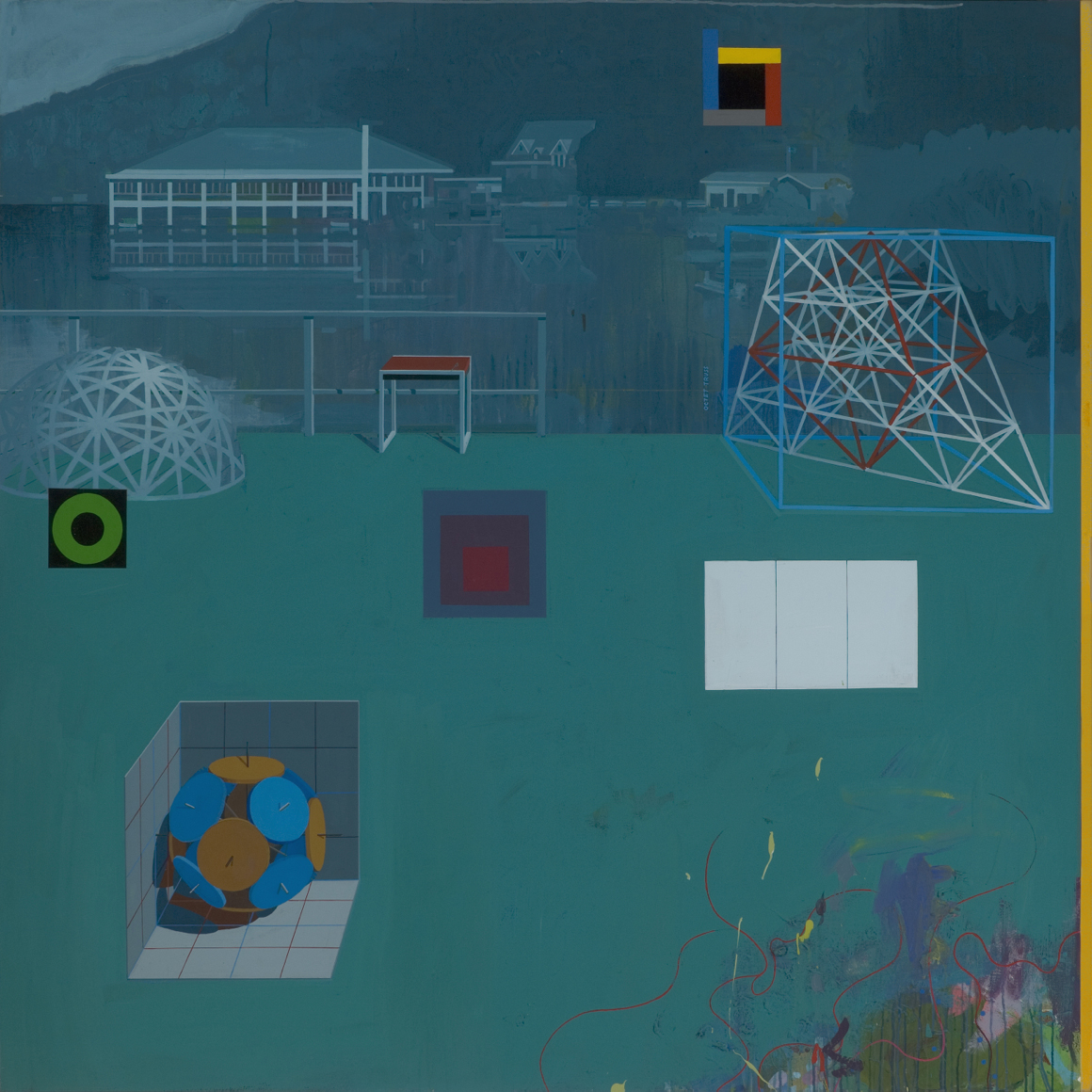 <p><em>Black Mountain College</em><span class='media'>acrylic on canvas</span>70 x 70in<br>2013<br><a class='inquire' href='mailto:info@gildargallery.com?subject=Artwork Inquiry CRIC0009&body=I am interested in finding out more about Black Mountain College by Clark Richert'>Inquire</a></p>