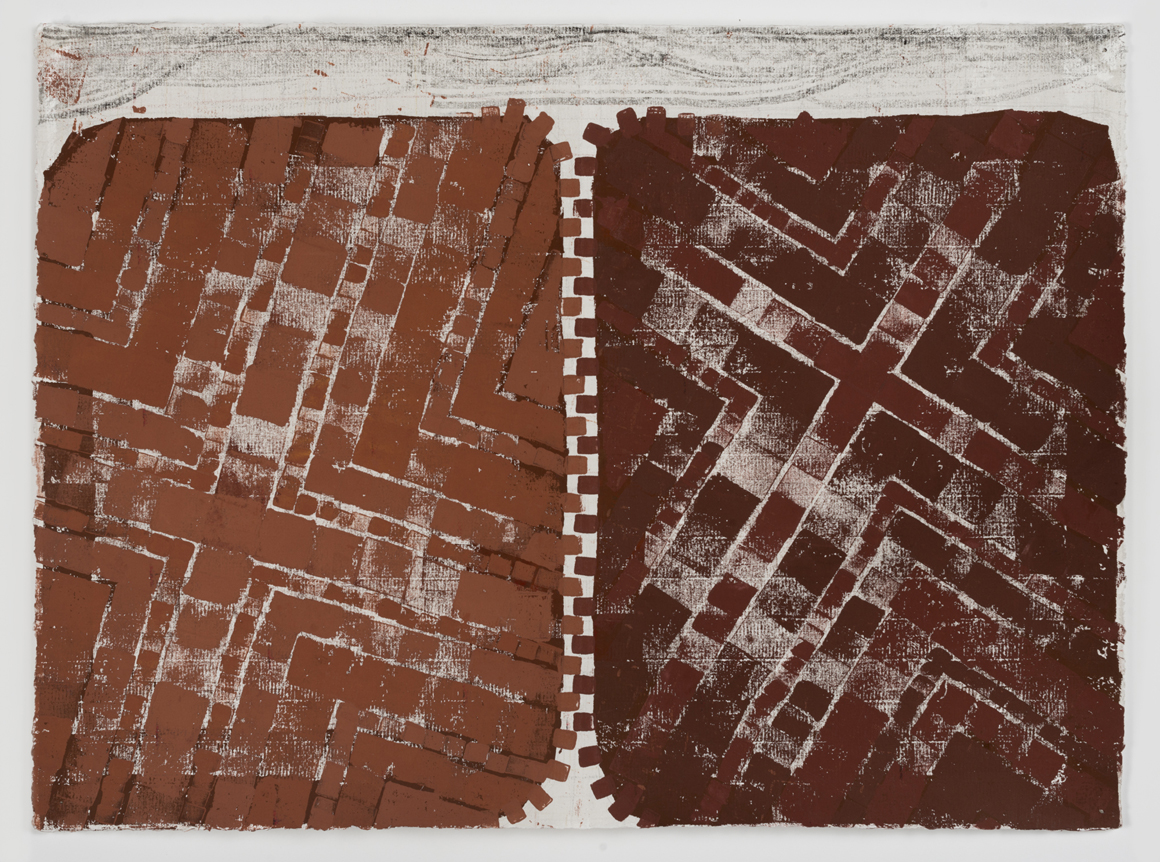 "<p><span class=""name"">Noah Pollack</span><br><em>Untitled (Rusty Zipper)</em><span class='media'>Block-printing ink, Sumi ink, watercolor, gouache, graphite, colored pencil, crayon and natural pigments on hand-made paper</span>26 x 19 in (66 x 48.3 cm)<br>22 1/8 x 29 1/8 in (56.2 x 74 cm) Framed (framed)<br>2017<br><a class='inquire' href='mailto:info@gildargallery.com?subject=Artwork Inquiry NPOL0001&body=I am interested in finding out more about Untitled (Rusty Zipper) by Noah Pollack'>Inquire</a></p>"