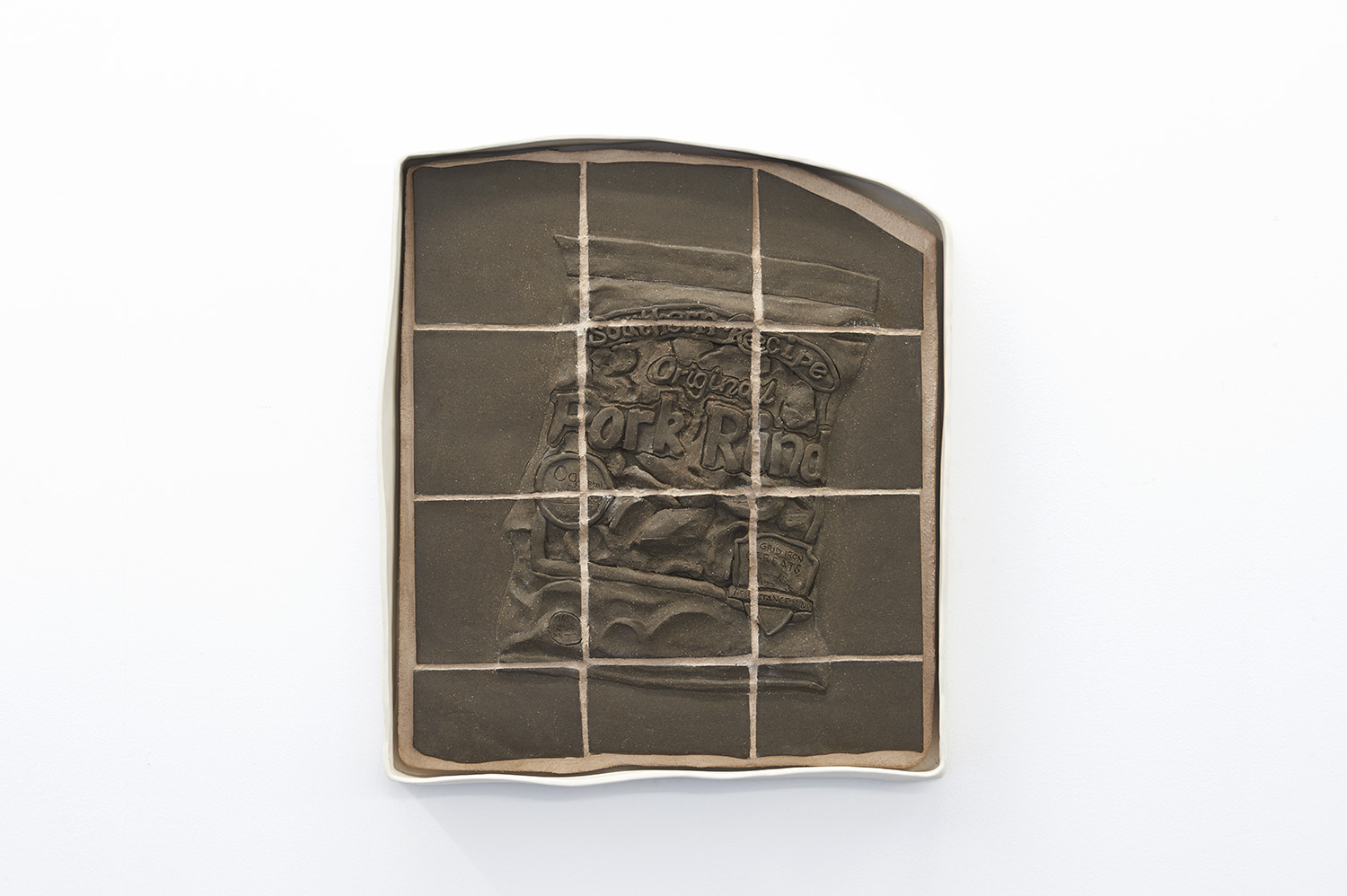 "<p><span class=""name"">Patrice Renee Washington</span><br><em>Southern Recipe</em><span class='media'>Porcelain frame, stoneware, grout, plywood</span>15 x 13.5 x 3 in  (38.1 x 34.3 x 7.6 cm)<br>2016<br><a class='inquire' href='mailto:info@gildargallery.com?subject=Artwork Inquiry PWAS0008&body=I am interested in finding out more about Southern Recipe by Patrice Renee Washington'>Inquire</a></p>"