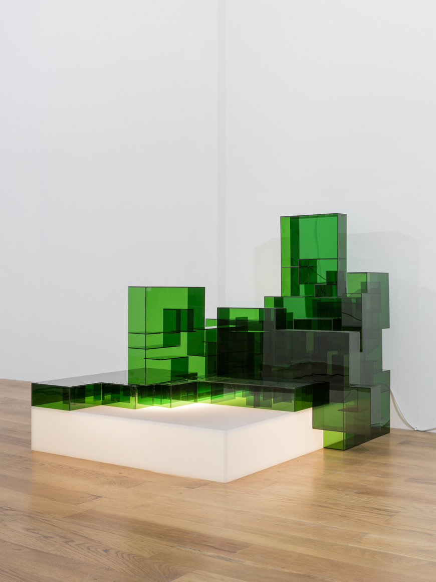 <p><em>Emerald</em><span class='media'>Plexiglas, light box, LED lights</span>2002<br><a class='inquire' href='mailto:info@gildargallery.com?subject=Artwork Inquiry WJUL0001&body=I am interested in finding out more about Emerald by Won Ju Lim'>Inquire</a></p>