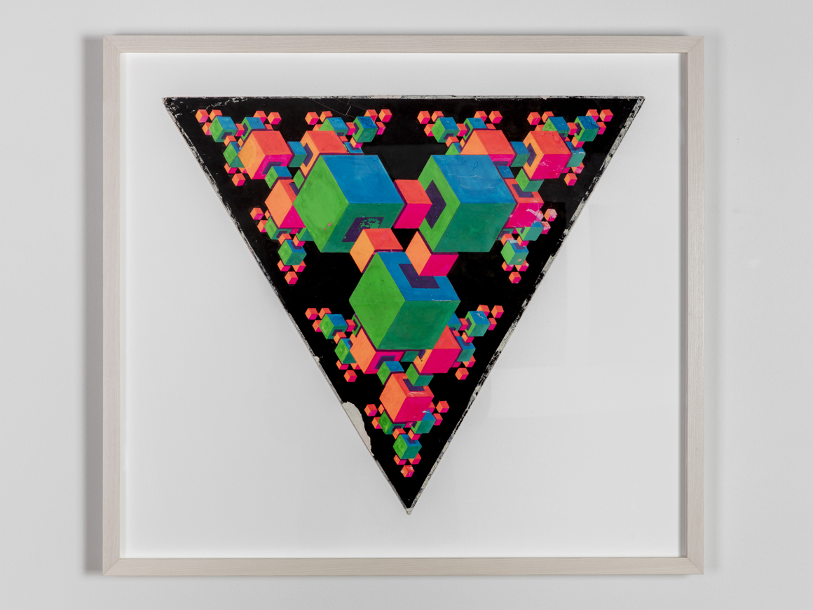 <p><em>Triadic</em><span class='media'>Dayglo on paper</span>18 3/4 (h) x 21 3/4in (w)<br>0.196668<br><a class='inquire' href='mailto:info@gildargallery.com?subject=Artwork Inquiry CRIC0035&body=I am interested in finding out more about Triadic by Clark Richert'>Inquire</a></p>